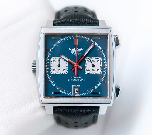 Heuer Monaco 40th Anniversary photographed by Blair Bunting