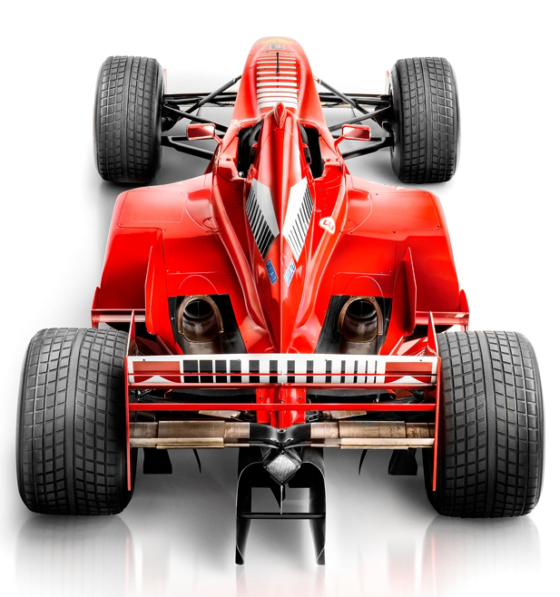 Michael Schumacher's Formula 1 Race Car photographed by Blair Bunting