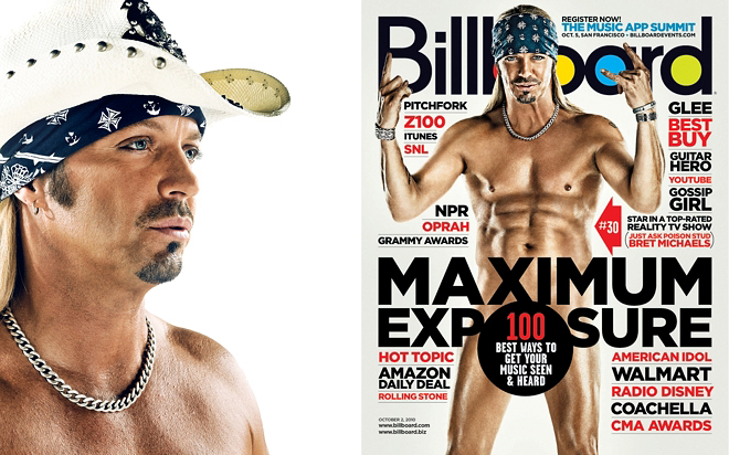 Bret Michaels photographed by Blair Bunting for Billboard Magazine