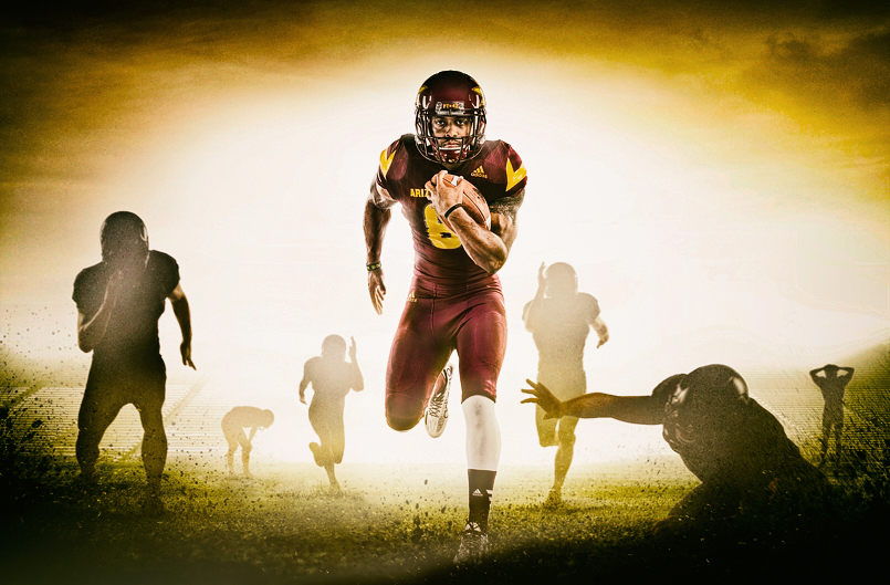ASU advertising campaign photographed by Advertising Photographer Blair Bunting