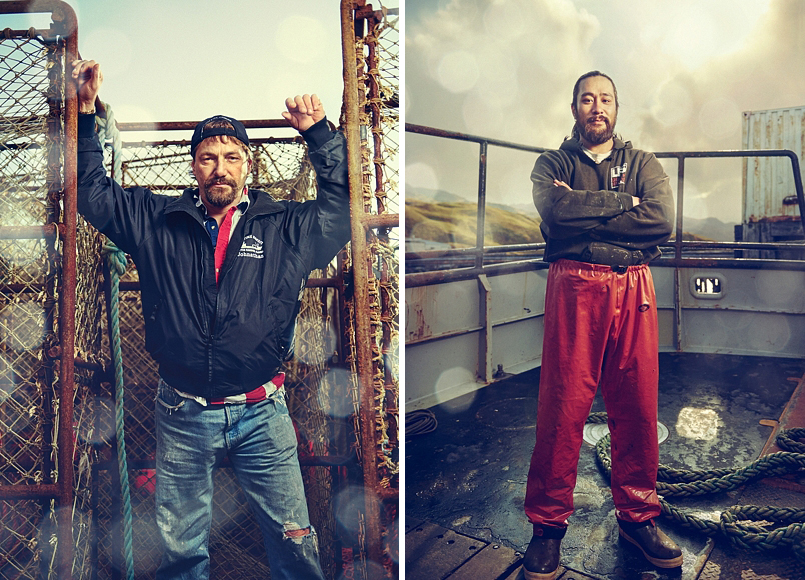 The Deadliest Catch photographed by Blair Bunting
