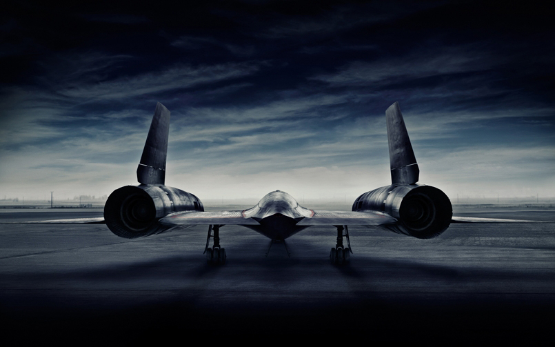 Advertising Photographer Blair Bunting Photographs the SR-71 Blackbird