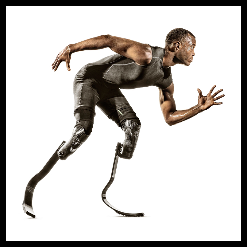 Blake Leeper Rio Olympics Runner for Team USA photographed by Blair Bunting