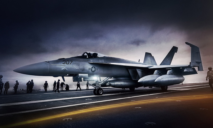 F18 Aircraft Carrier