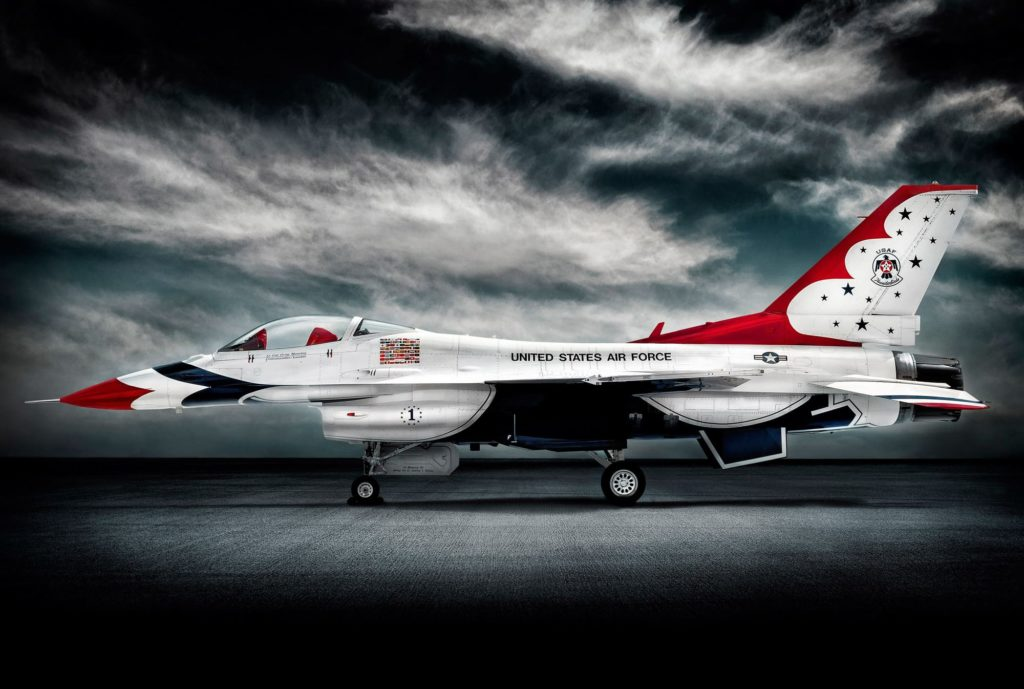 USAF Thunderbirds F16