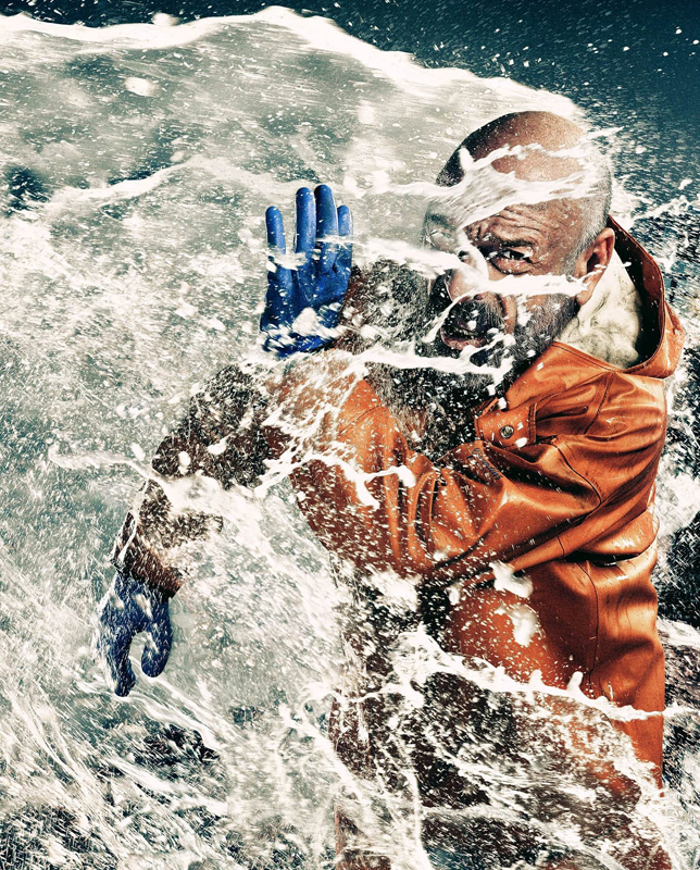 The Deadliest Catch campaign photographed by commercial photographer Blair Bunting in Phoenix, AZ.