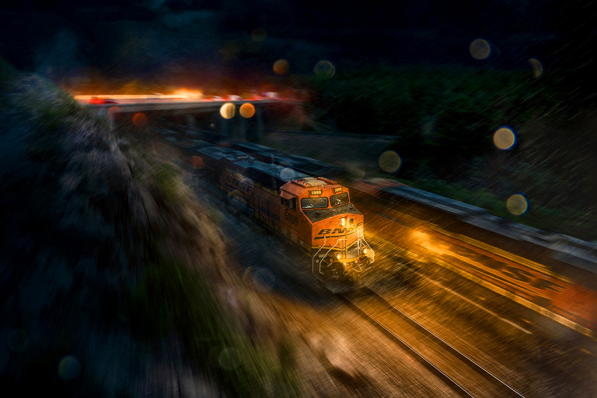 BNSF Freight Trains