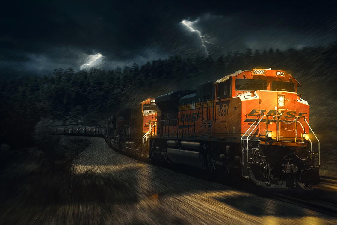 BNSF Freight Train